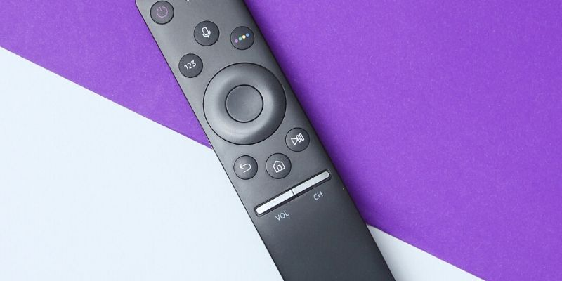 android tv stick with remote controller